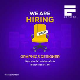 Graphic designer vacancy in a IT company