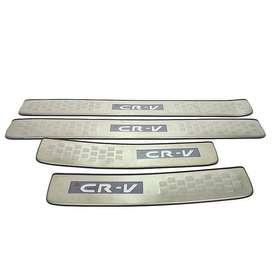 GRAND ALL NEW CR-V > > Sillplate samping Stainless > > kikim veteran
