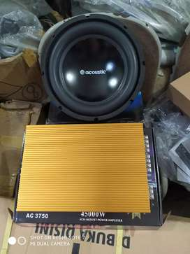 Paket sound Acoustic siap pasang ( Megah top )