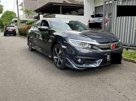 Honda Civic 1.5 Turbo AT Blue Mica Metalik 2017 ISTIMEWA