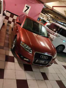 Audi A4 B7 210Hp S-line rare red colour multitornic, turbo 2000cc