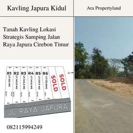 Tanah Kavling Strategis Samping Jalan Raya Japura Cirebon