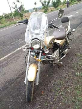 Brand new condition Bajaj Avenger 220 CC solid bike with insurance