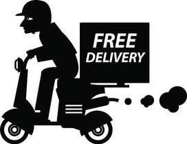 Urgent Opening for Delivery Boy In Kolhapur Location.