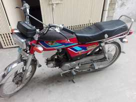 Honda CD 70 Model 1997 Red