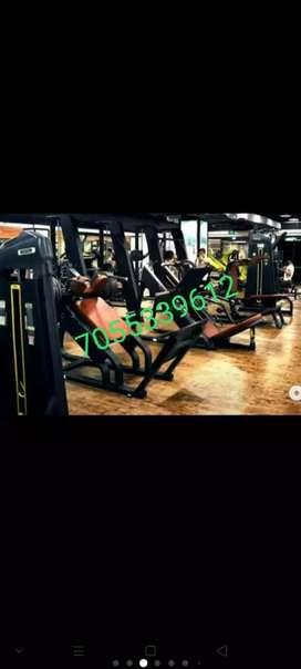 Heavy duty. Gym equipments