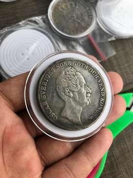 Koin Kuno Oscar Sveriges 1R 1852