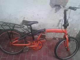 Sepeda lipat siap pakai murah sajah