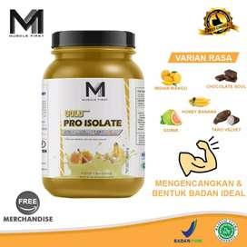 Suplemen Fitness MUSCLE FIRST Whey Pro Isolate 5 lbs rasa banana