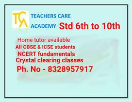 Home tutor (from all upsc prospective students)