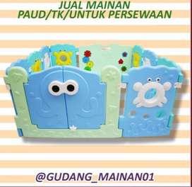 Mainan Indoor Playground Pagar-pagaran Dengan tema menarik Murah