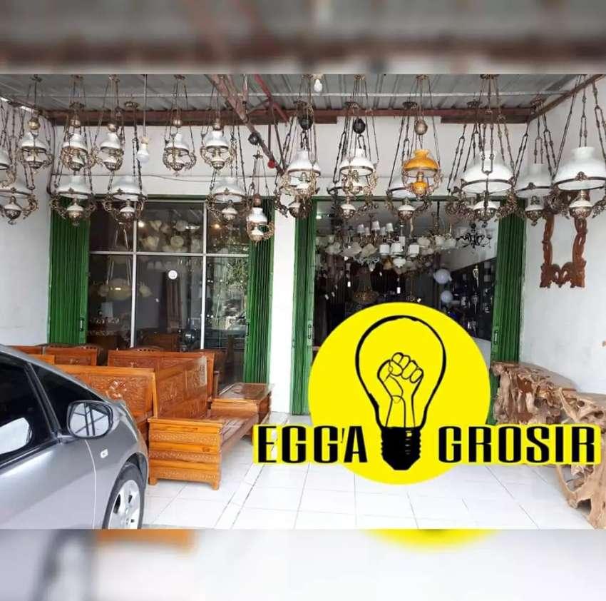 PRODUKSI LAMPU GANTUNG DINDING ANTIK MINIMALIS HIAS JOGLO CAFE 0