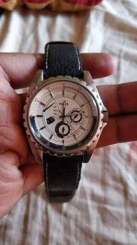 Timex men's T2M429 premium retrograde chronograph watch.