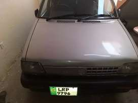 Mahran car vxr is a good condition cng and petrool.with AC.