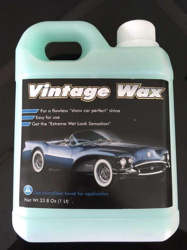 Vintage Wax Coating Spray 0