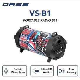 Speaker Bluetooth Oase Portable Radio S11 VS-B1