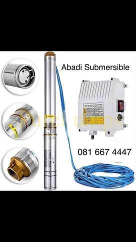 Submersible nasional 3 dim 200 watt + tali 30 m
