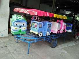 odong odong mainan kereta mini panggung komedi putar robo tayo 11