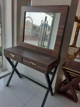 New stylish dressing table 2drawers with mirror best quality