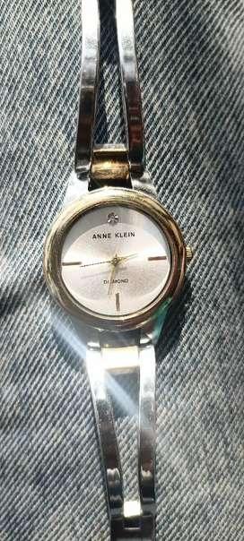 Anne Klein Diamond watch