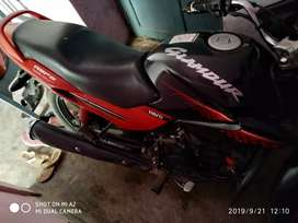Hero glamour in new condition..all paper ok..i have to buy scooty