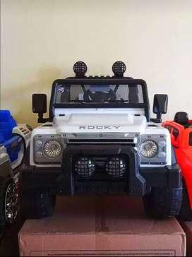 [COD] Mobil Mainan Aki Jeep Volta Rocky / Mobil Mainan Bisa Dinaiki