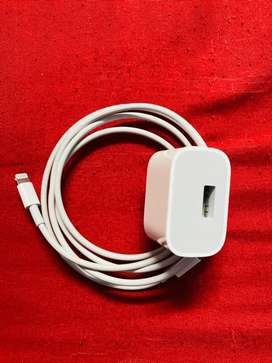 Apple iphone cable and adapter