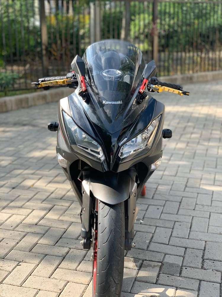 CASH CREDIT JUAL MOTOR MOGE KAWASAKI NINJA 250 FI 2016 ABU SE ABS