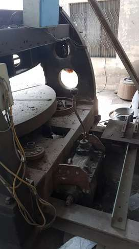 Verticle lathe 6ft O D