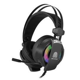 Headset Gaming Digital Alliance Titan Bronze Surround 7.1 RGB LED
