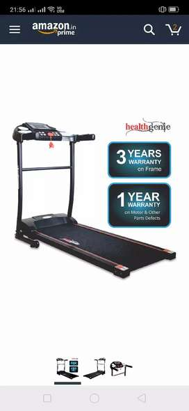 Treadmill for running and walking - 12000rupees