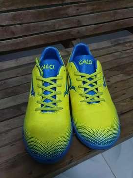 Sepatu Bola Futsal Calci Original Size 43 Mulus Like New