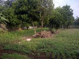 Tanah jalan Tirta ujung way Kandis