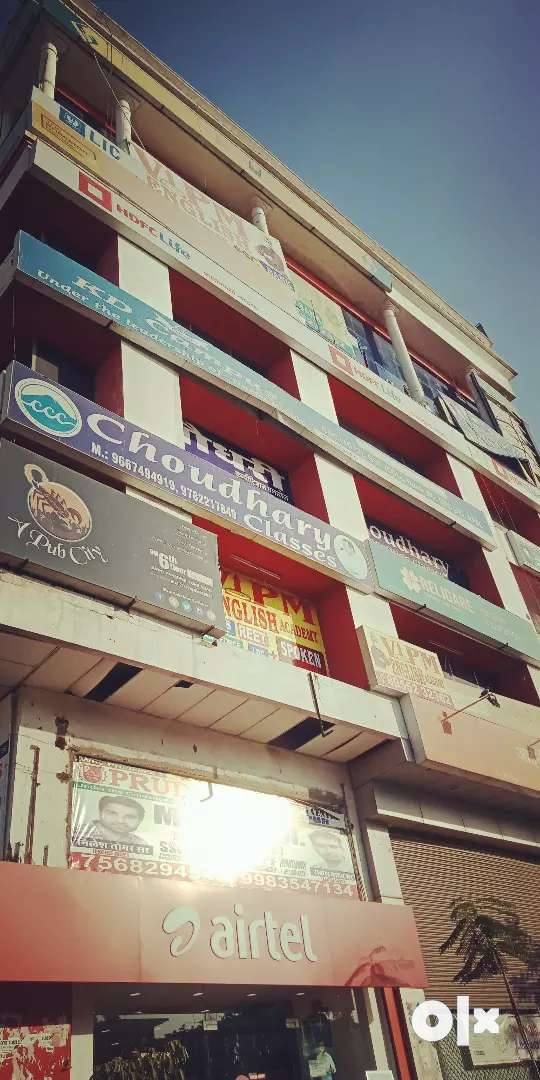 10*30 furnished ac office space first florfor rent gopalpura tonk road 0