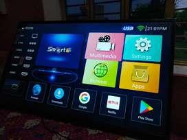32 inch Naya smart TV Sirf 8999 me 2yr warranty full HD all size avail
