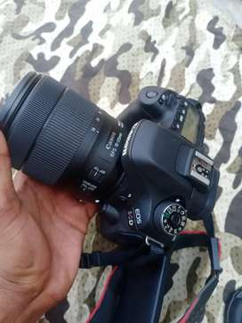 Canon camera 80d 1 years old 1 year warranty