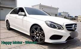 Mercedes Benz E400 3.0 AVG AMG 2015 Miles 20rb Dynamic White On Black