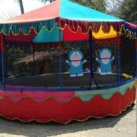 dijual cepat trampoline anak