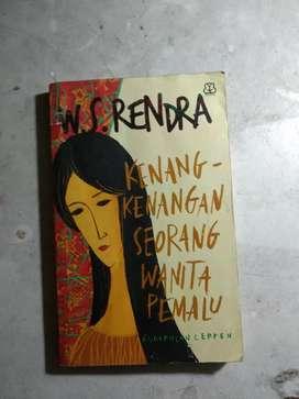 Jual novel Kenang-kenangan seorang wanita pemalu