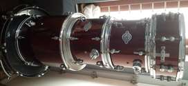 Sonor 5 Piece Professional Drum Kit mint condition