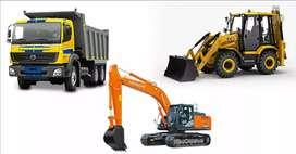 RENTAL JCB, Hitachi and Tipper Trivandrum