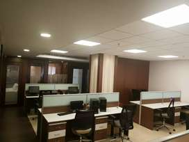 Luxurious work stations at manjeera majestic