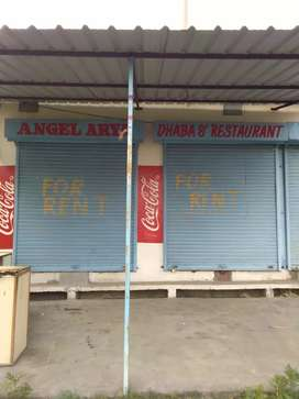 Shop for sale opp sarvanand university 100 ft front space for parking