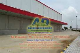 43000 Sq. Ft. Factory for Rent in Umbergaon