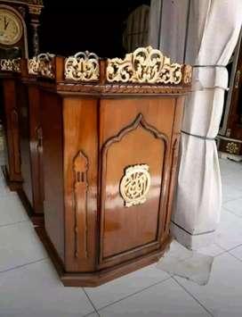 mimbar masjid jatii laris