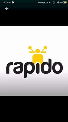 Rapido captain bike taxi...