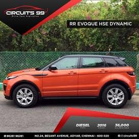 Land Rover Range Evoque HSE Dynamic, 2016, Diesel