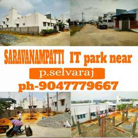 Saravanampatti kurumbapalayam adhithya college near DTCP PLOTS