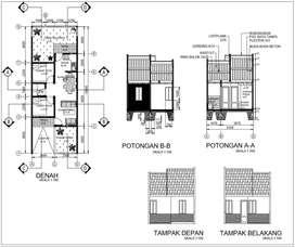 Jasa Desain Gambar Bangunan dan Kontraktor