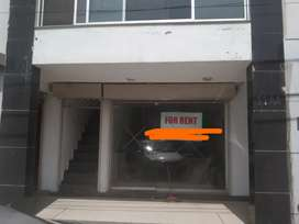 Ground + Basement Sector Shop For Rent